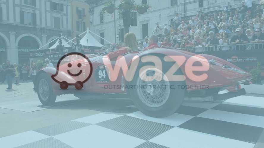 Waze partner della 1000 Miglia, una gara in tempo reale