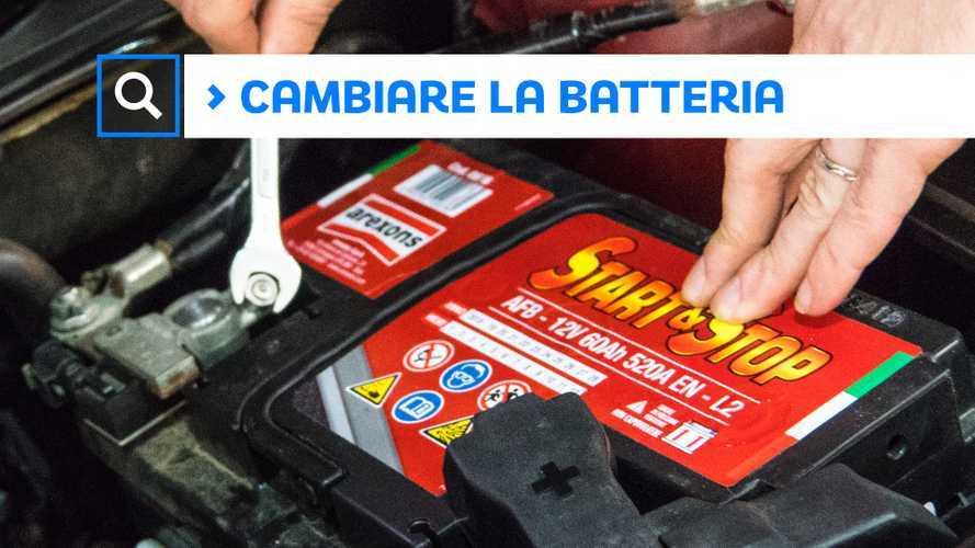 Batteria scarica, come sostituirla