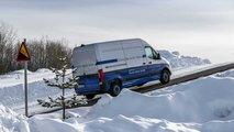Mercedes eSprinter test invernali