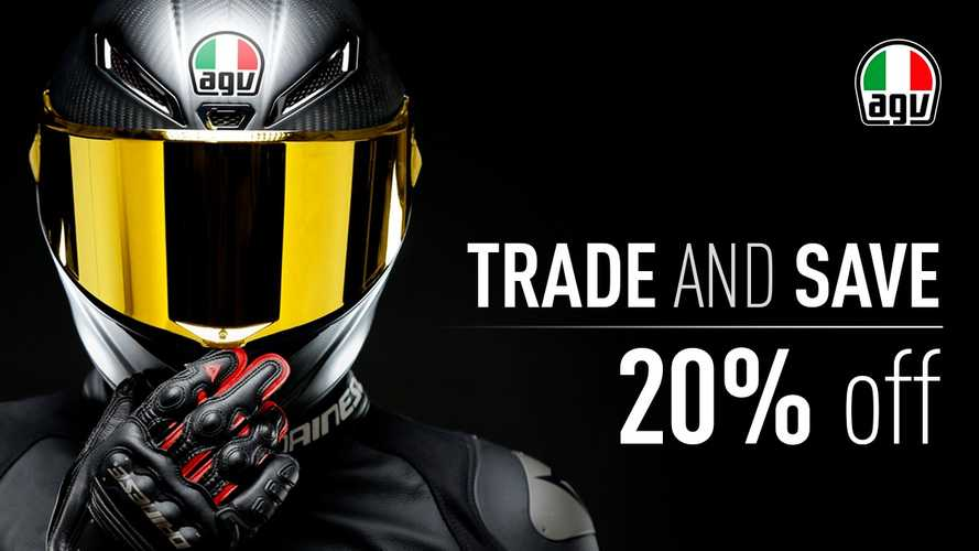 AGV's Trade And Save Program: Your Next New Helmet
