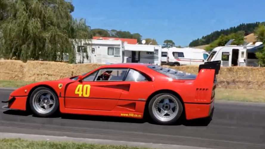 Cette Ferrari F40 LM Replica embarque un V8 Lexus biturbo
