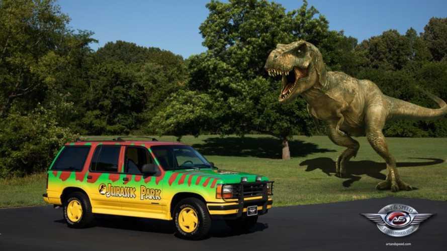 Bag Your Own 1993 'Jurassic Park' Ford Explorer!
