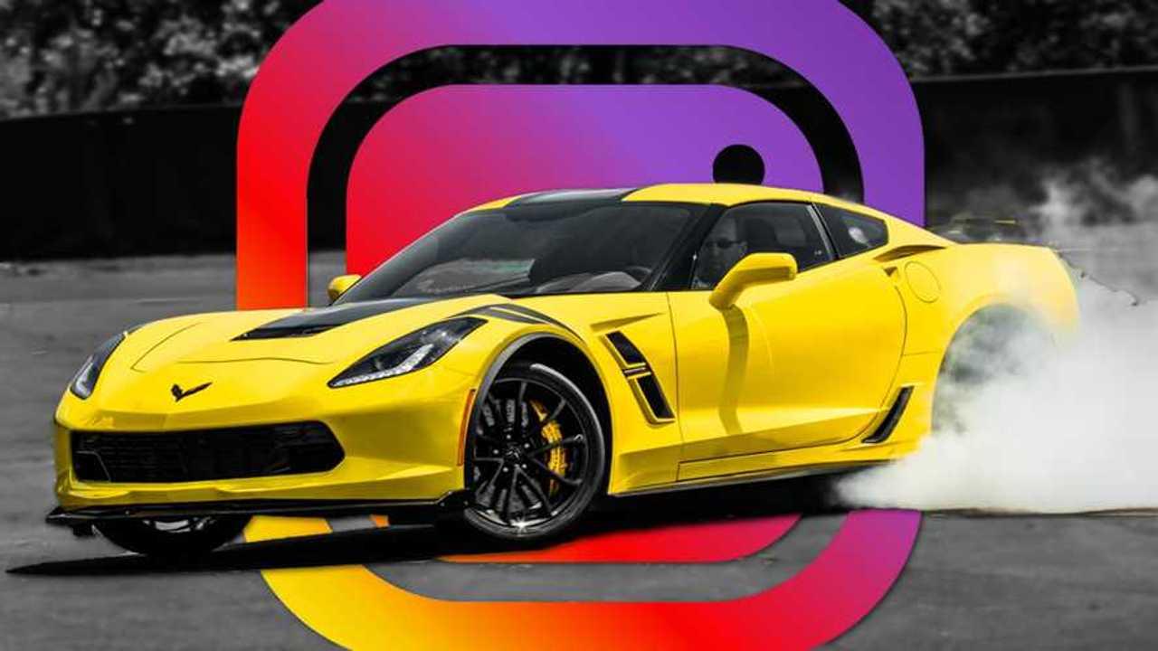 Corvette Instagram Lead