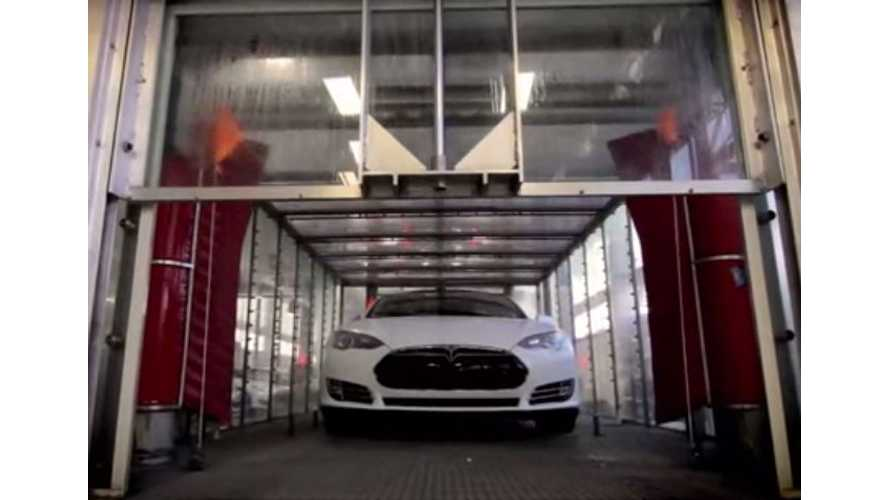 Video: Wired Takes Us Behind the Scenes as the Tesla Model S Gets it Final Quality Checks