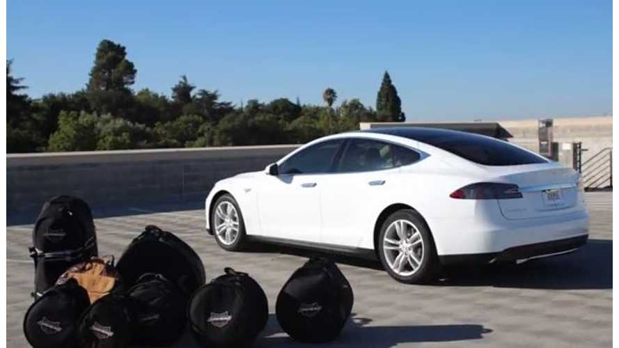 Video: Tesla Model S Owner Provides One-of-a-Kind Review From a Drummer's Perspective