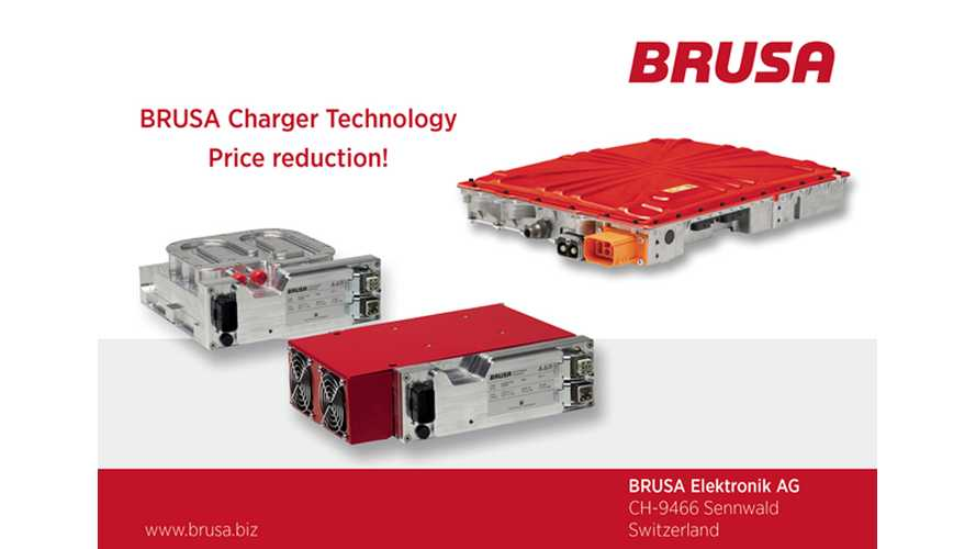 Brusa Reduces Prices for On-Board Battery Chargers