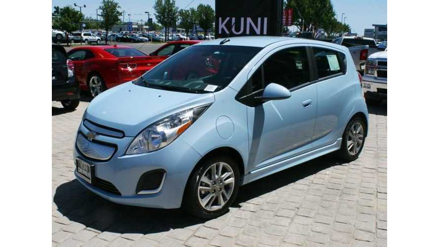 Infographic: GM Says 2014 Chevy Spark EV Saves Buyers Lot of Money
