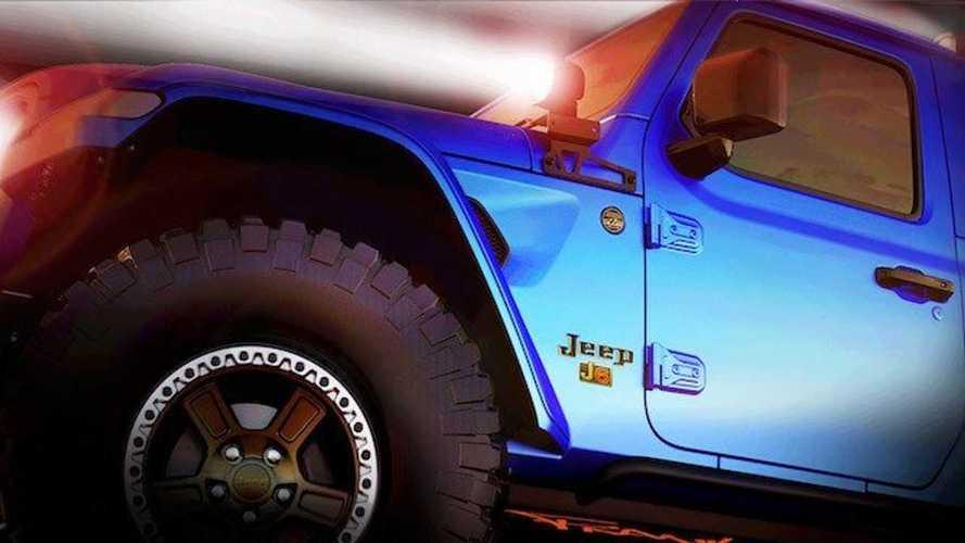 Teaser Jeep Safari Concept 2019