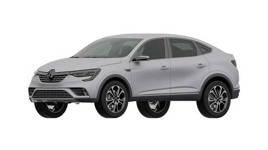 Запатентована внешность Renault Arkana для России