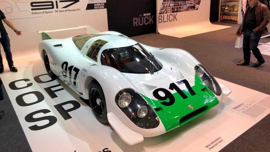 Restored Porsche 917 No.1 Makes Its Debut At Retro Classics