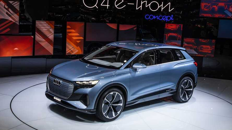 Audi, Q4 E-Tron SUV konseptini Cenevre'de sergiliyor
