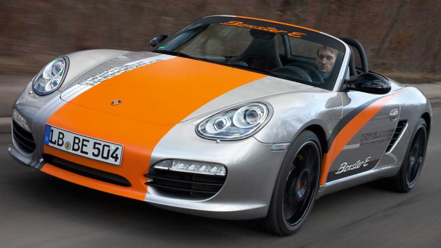 Porsche to decide on electric Boxster this year