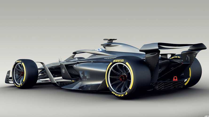 2021 Formula 1 concept claimed to produce five-times less dirty air