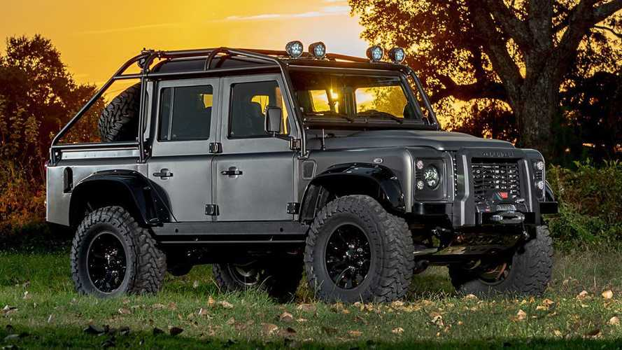 Corvette-powered Land Rover Defender has 525 bhp