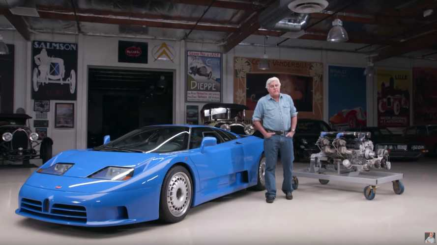 Jay Leno Celebrates 110 Years Of Bugatti With An EB110