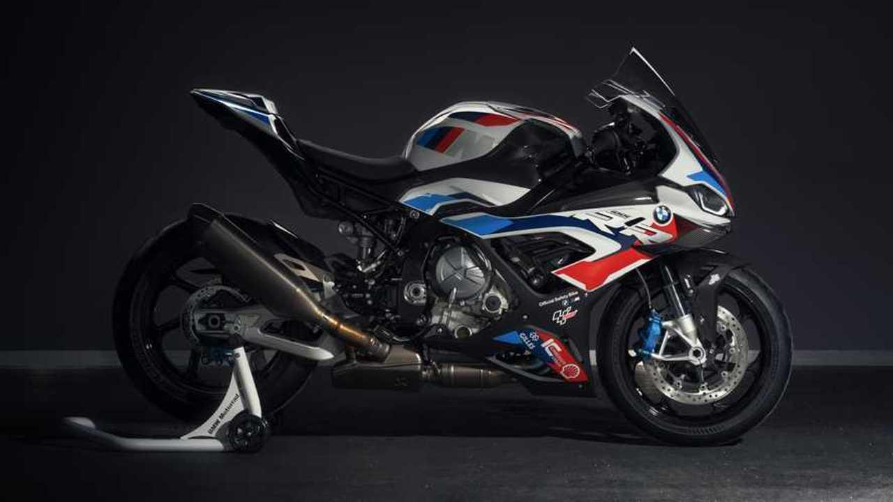 BMW Motorrad M 1000 RR Safety Bike - Right Side Alternate