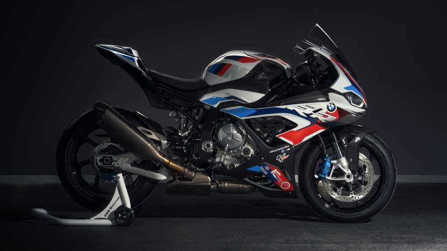 BMW Introduces First-Ever MotoGP M 1000 RR Safety Bike