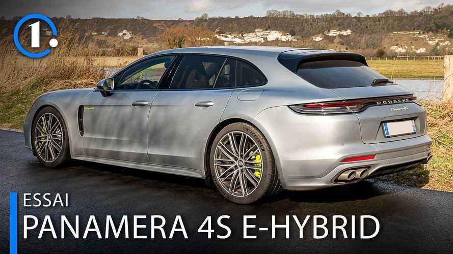 Essai Porsche Panamera 4S E-Hybrid Sport Turismo - Du souffle et des watts