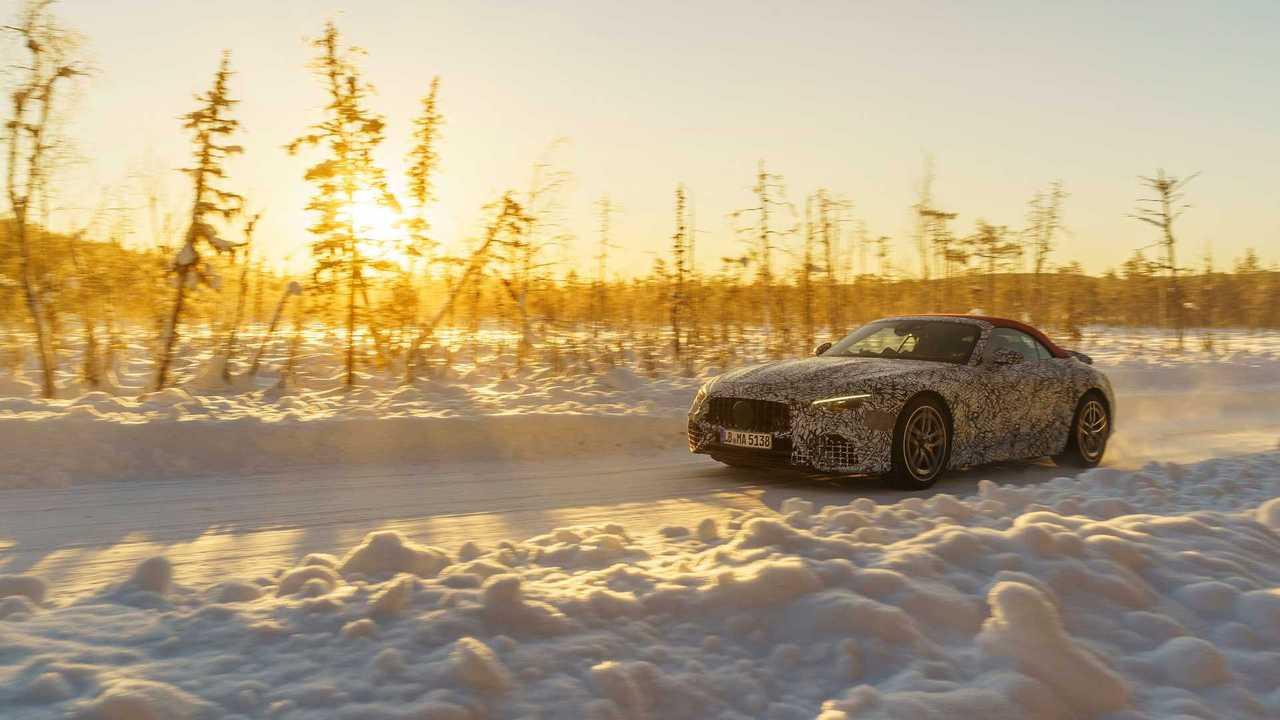 Новый Mercedes-AMG SL получит полный привод – впервые в истории