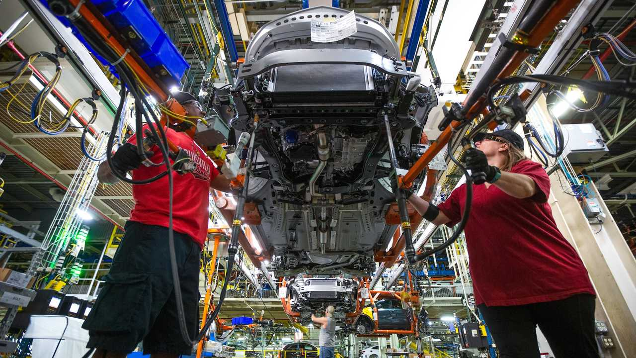 Chip shortage shutters production at four GM factories.