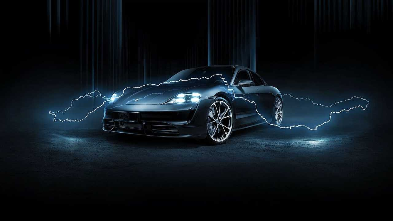 Porsche Taycan by Techart (exterior)