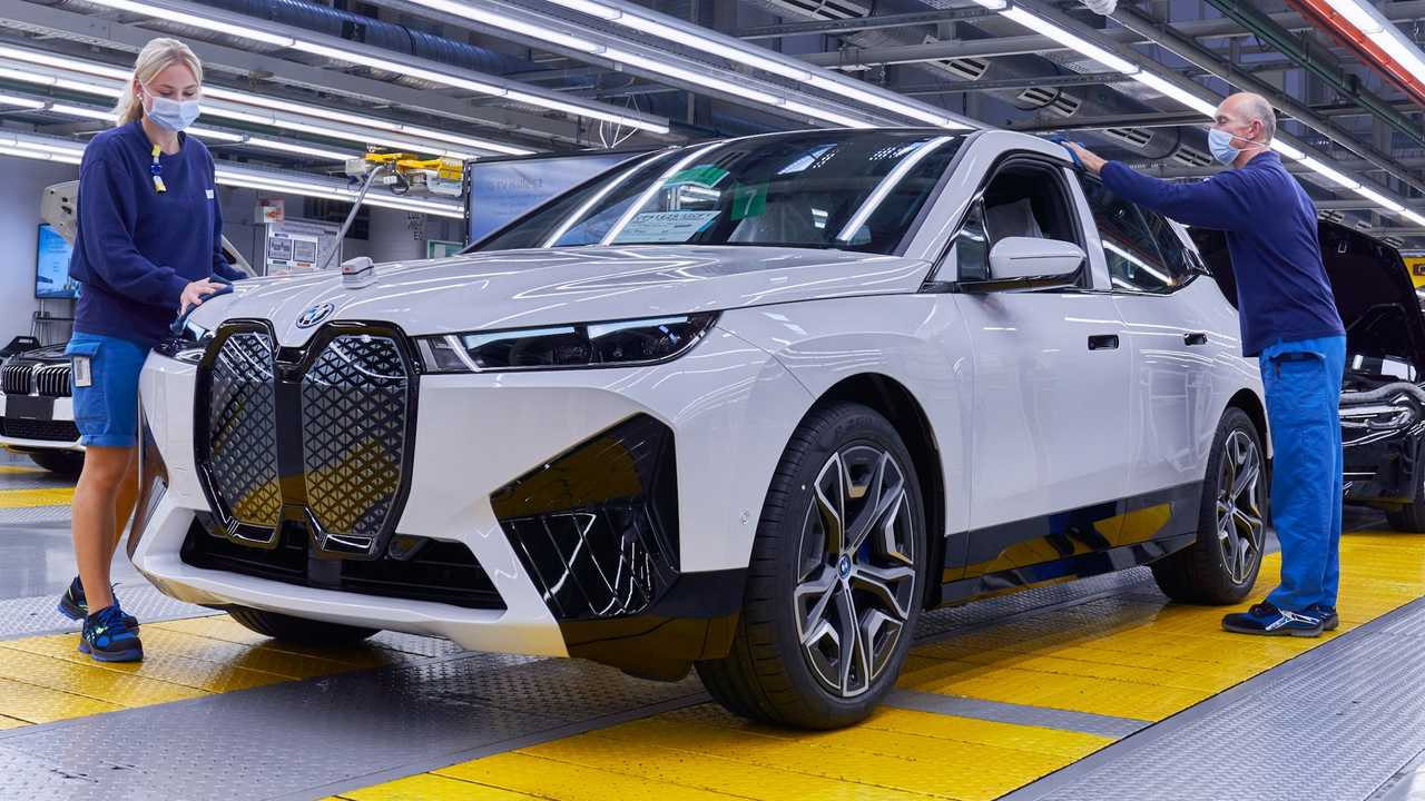 BMW has focused on sustainability for the iX production.