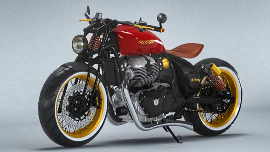 This Concept Bobber Is Based On A Royal Enfield Continental GT