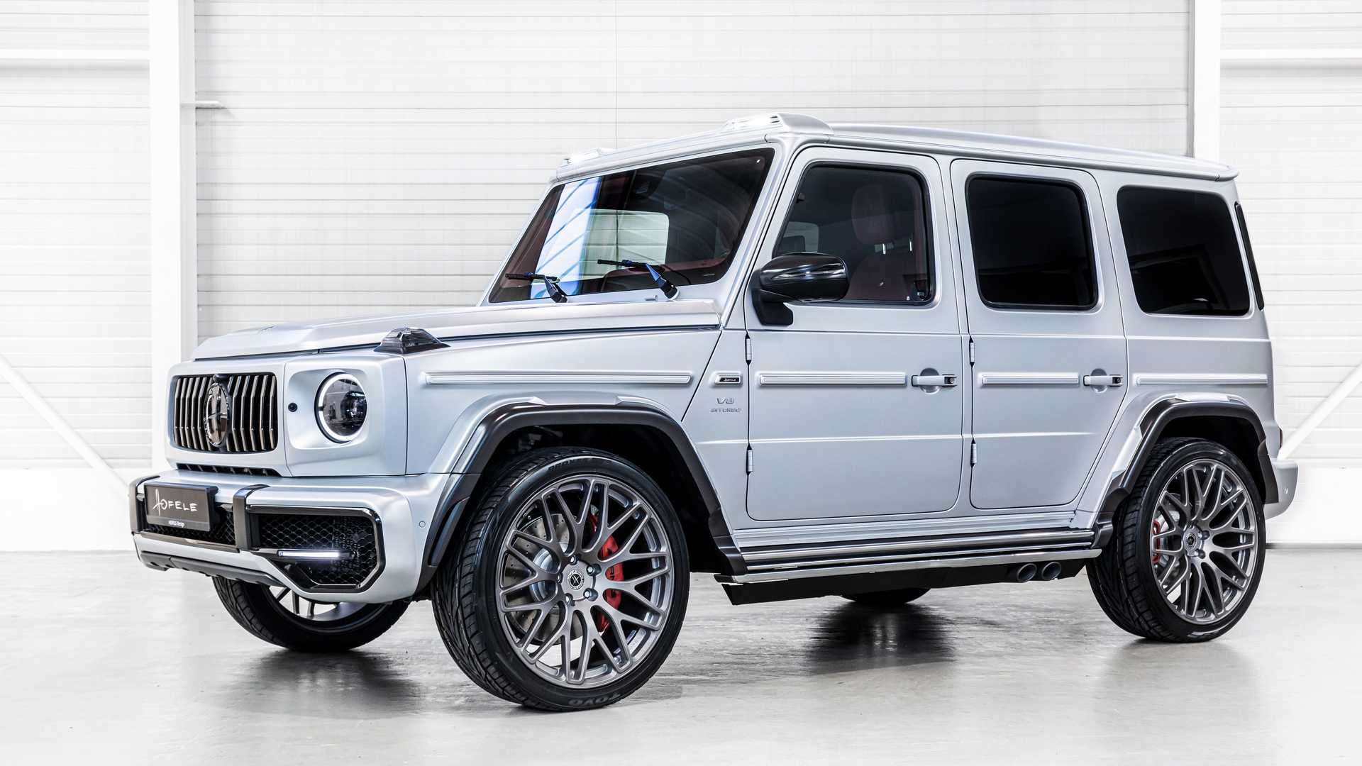 Mercedes-AMG G63 HG 63 Sport By Hofele Front View