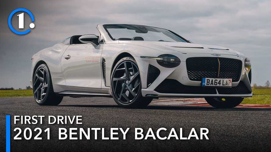 2021 Bentley Bacalar first drive review: Car zero, the hero