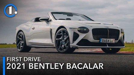 2021 Bentley Bacalar first drive review: Car zero, the hero