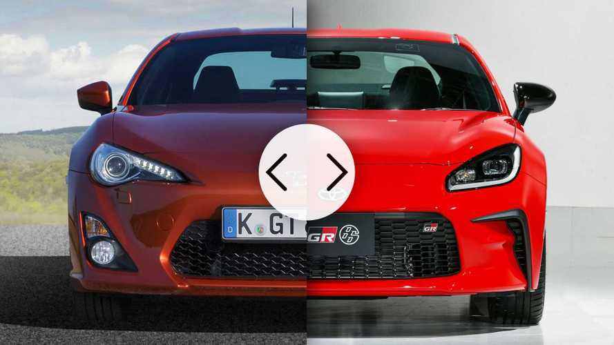 See How The New Toyota 86 Compares To The Old One