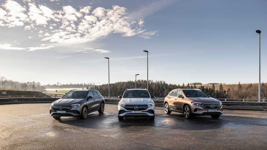 Mercedes-Benz Received 20,000 Orders For The EQA