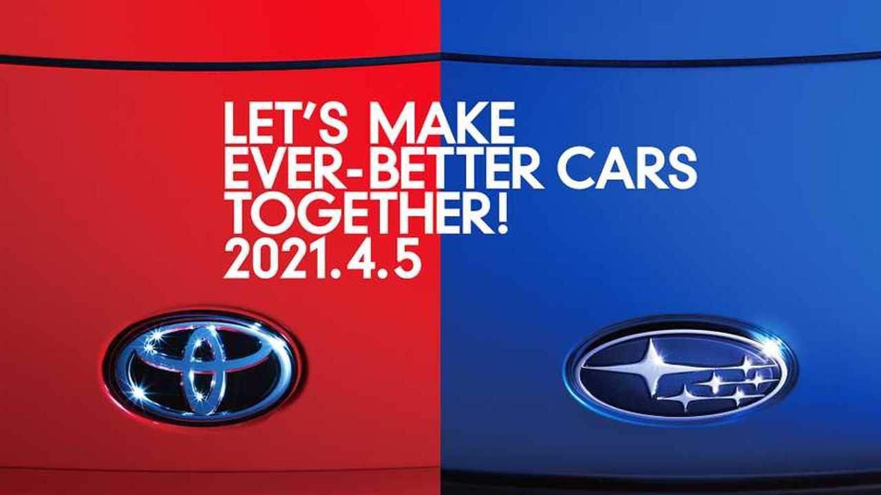 presentazione Toyota/Subaru 5 aprile 2021