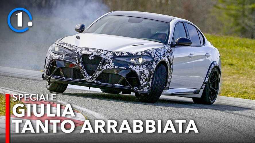 Alfa Romeo Giulia GTA, prova in pista della più sportiva di tutte