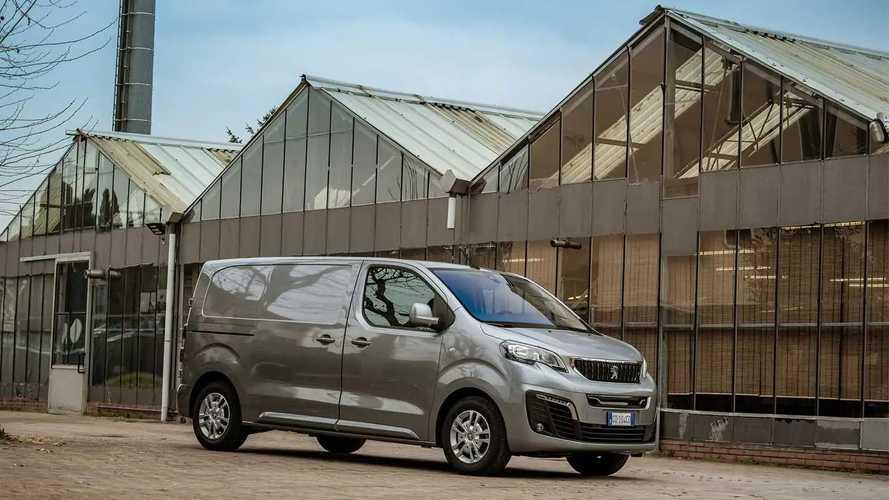 Peugeot e-Expert, la prova su strada a Milano