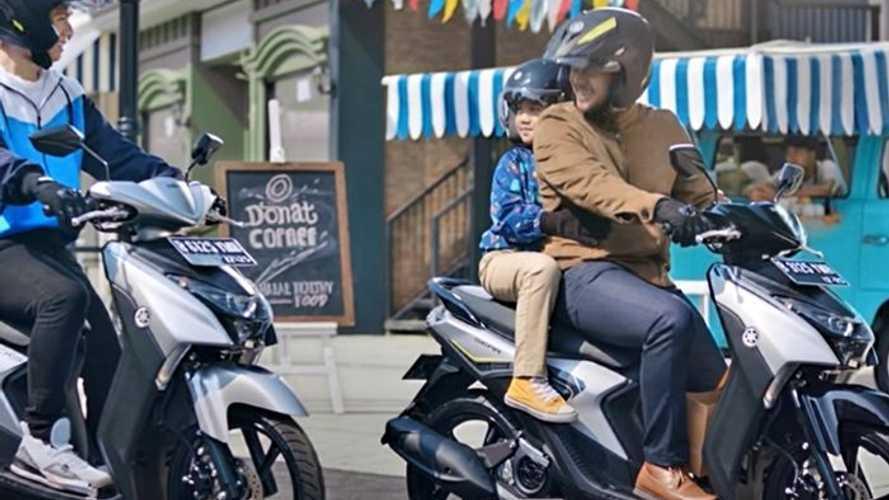 10 Tips Berkendara dengan Sepeda Motor bersama Anak