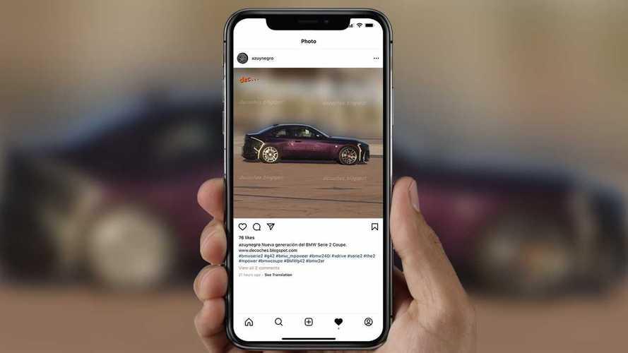 Neues BMW 2er Coupé (2021) ungetarnt in der Seitenansicht
