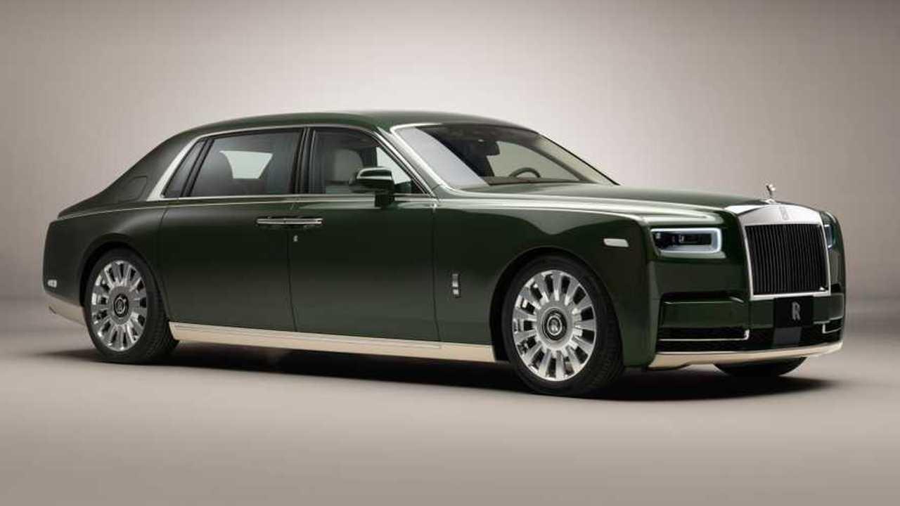 Bespoke Rolls-Royce Phantom Oribe unveiled.
