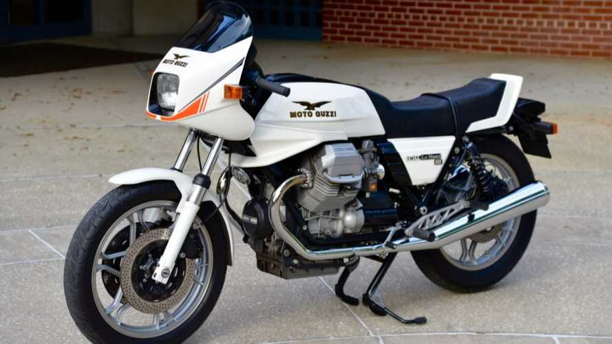 This 1983 Moto Guzzi 850 Le Mans III Is Looking For A New Home