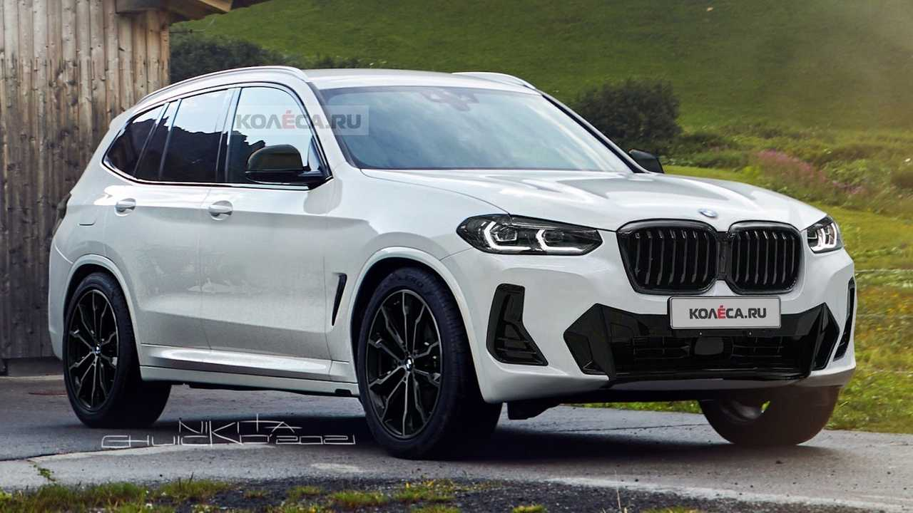 Facelifted BMW X3 Unofficial Renderings