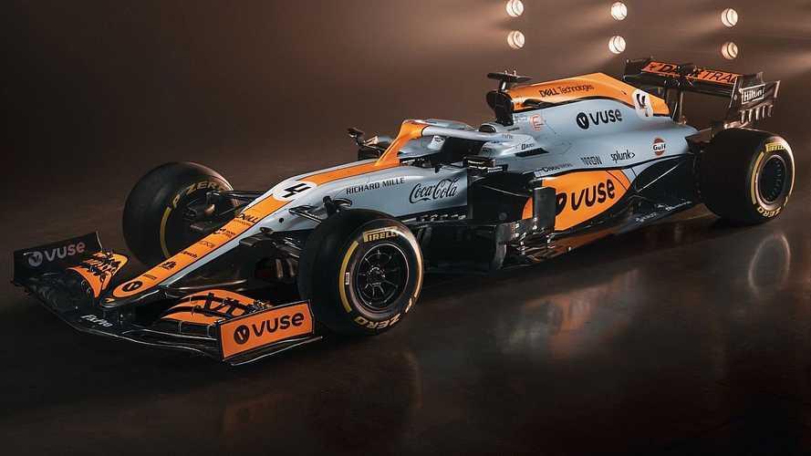 К гран-при Монако McLaren перекрасил болид в цвета Gulf (12 фото)