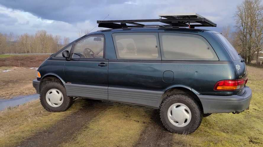 Cool Toyota Previa Camper Could Be The World's Only Mid-Engine RV