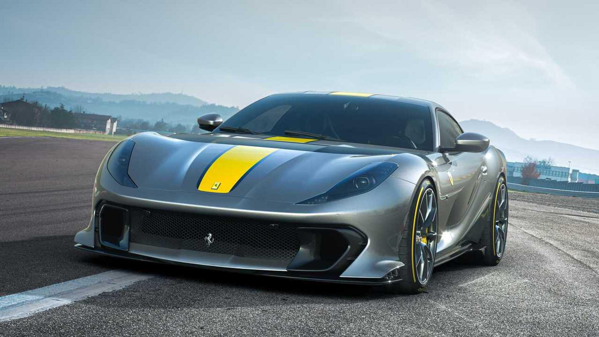 Ferrari 812 Competizione A Revealed: V12 Targa With 830 HP