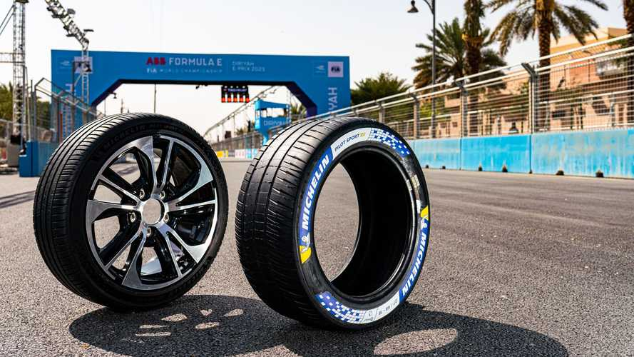 Dalla Formula E il pneumatico Michelin per le elettriche sportive