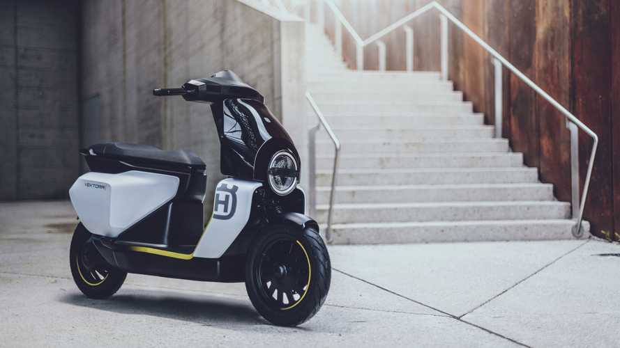 Husqvarna Unveils Vektorr Electric Scooter Concept To The World