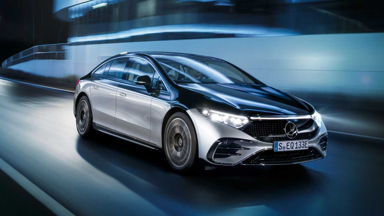 2022 Mercedes-Benz EQS 580 Edition One - Quartiere anteriore esterno