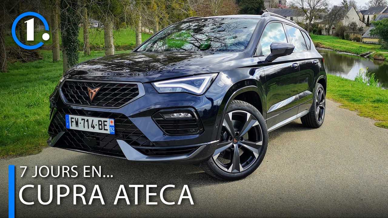 Photo essai Cupra Ateca