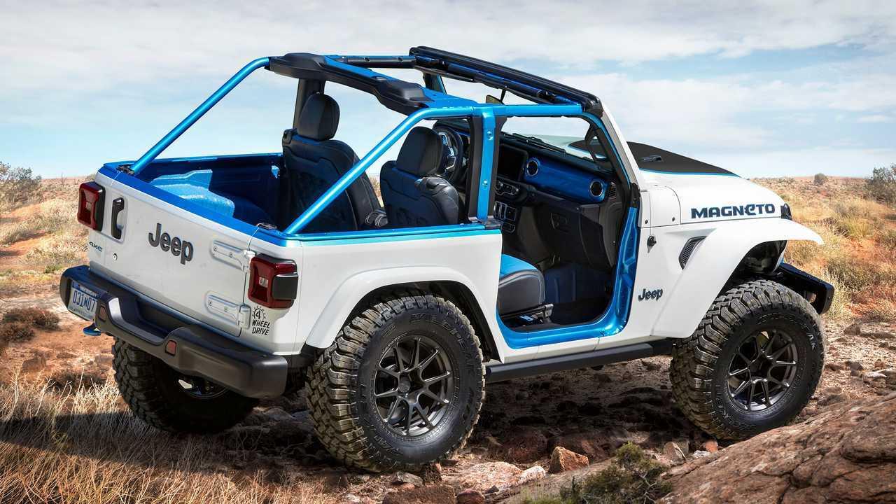 Elektrikli Jeep Magneto konsepti 2021