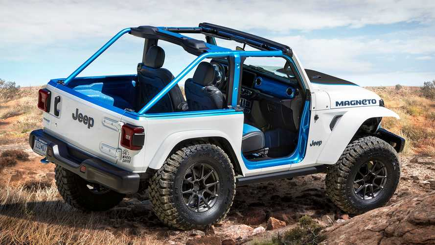 Elektrikli Jeep Magneto konsepti tanıtıldı