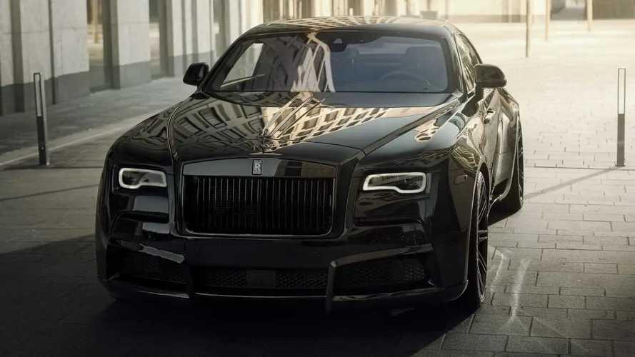 Rolls-Royce Black Badge Wraith Karya Spofec